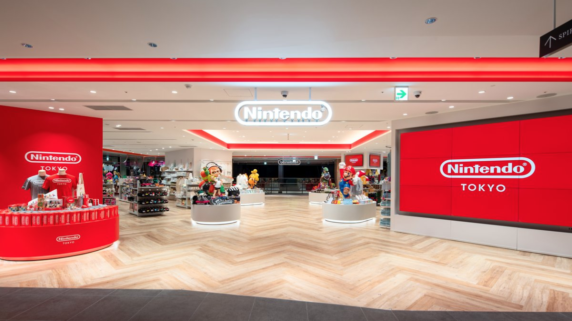 Inside Japan's First Nintendo Store