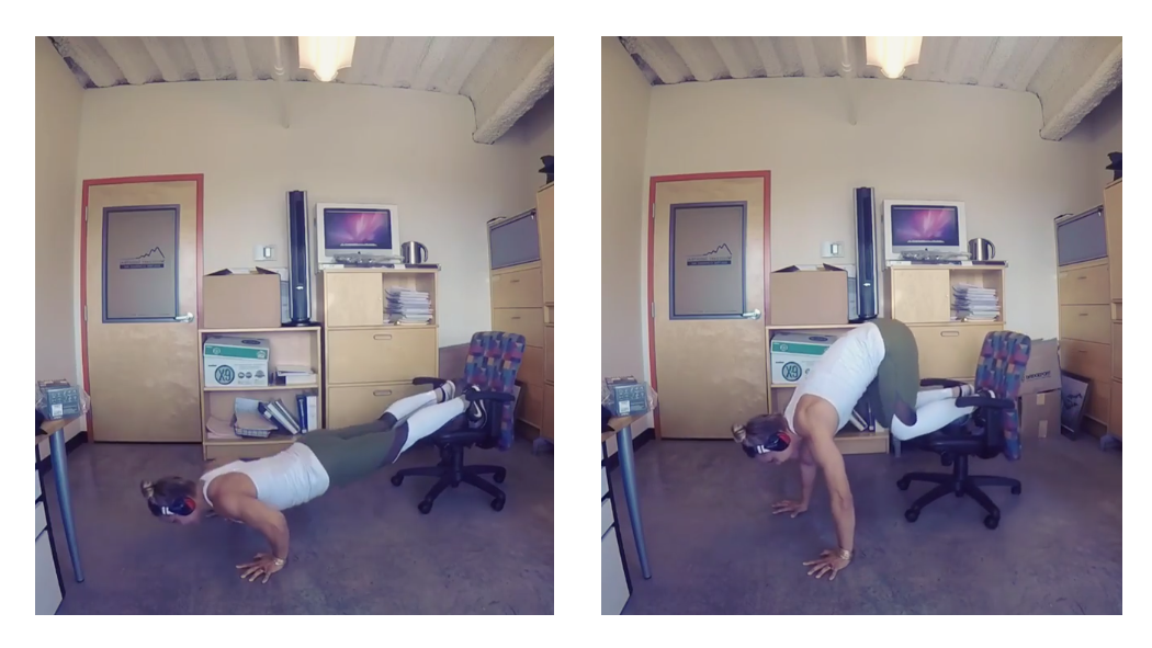 Get a Killer Midday Workout on Your Wheeled Office Chair