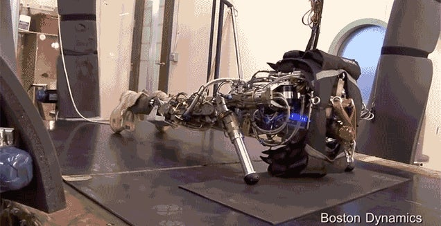A Boston Dynamics Robot Montage Set to Scarface's Push It To The Limit