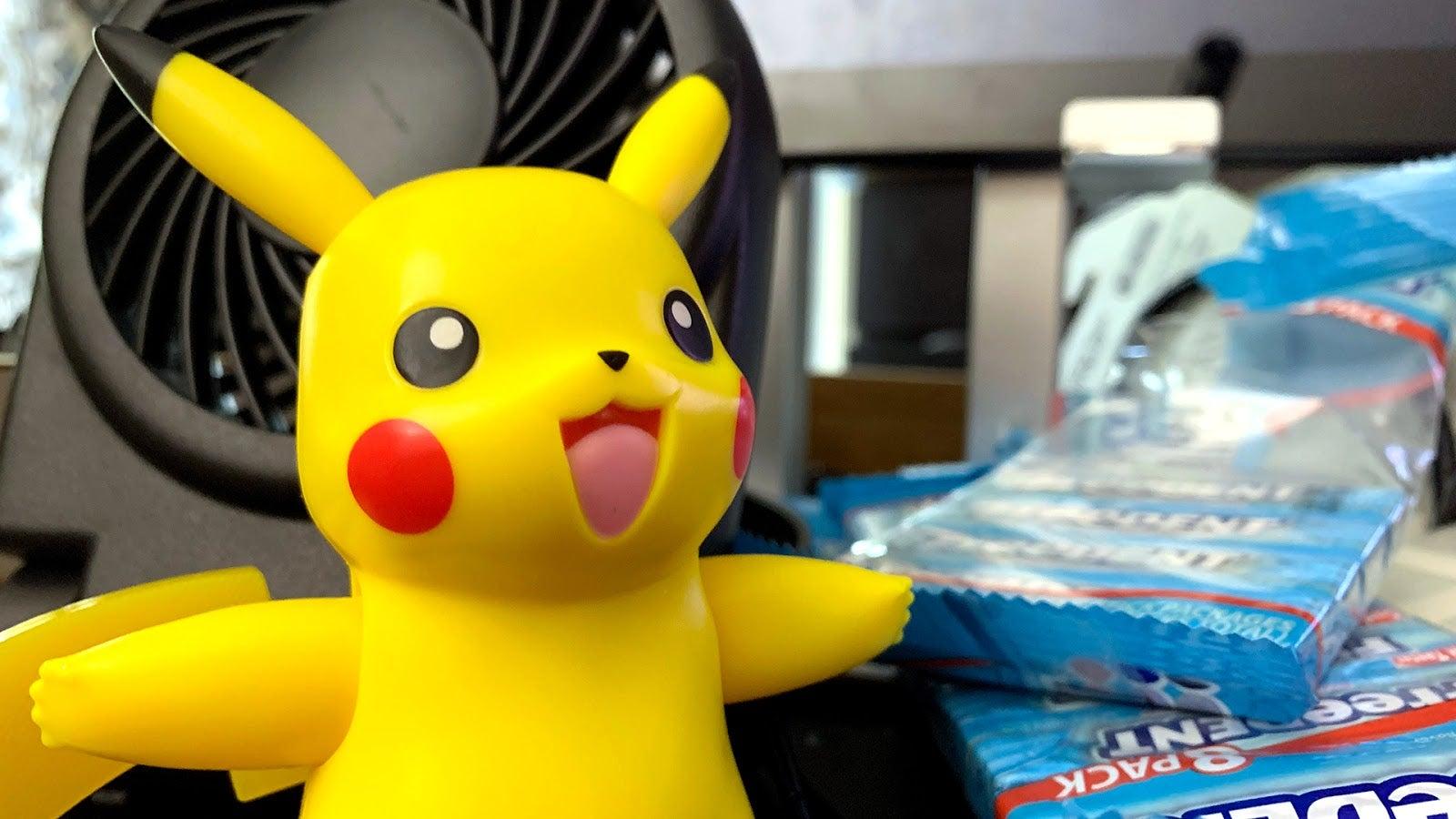 'My Partner Pikachu' Is A Cold Hard Plastic Pokénomaton, But I Still Love Him