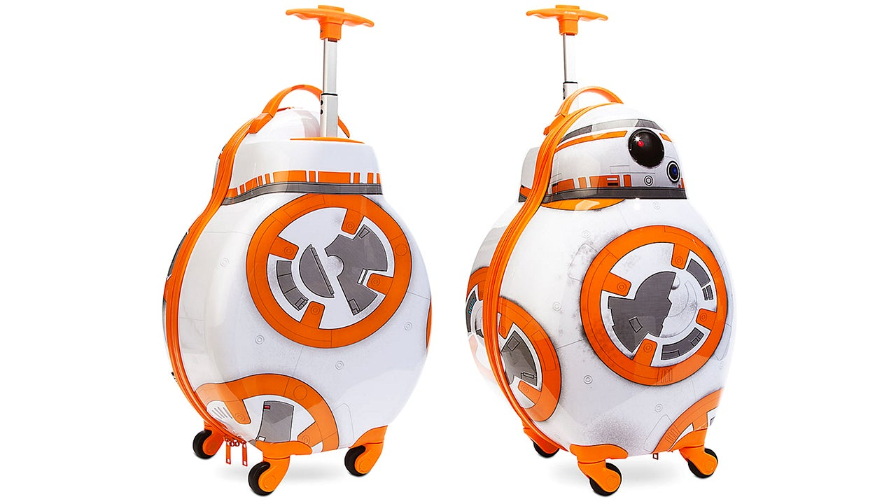 Pack This Rolling BB-8 Suitcase For Your Next Trip To Tatooine