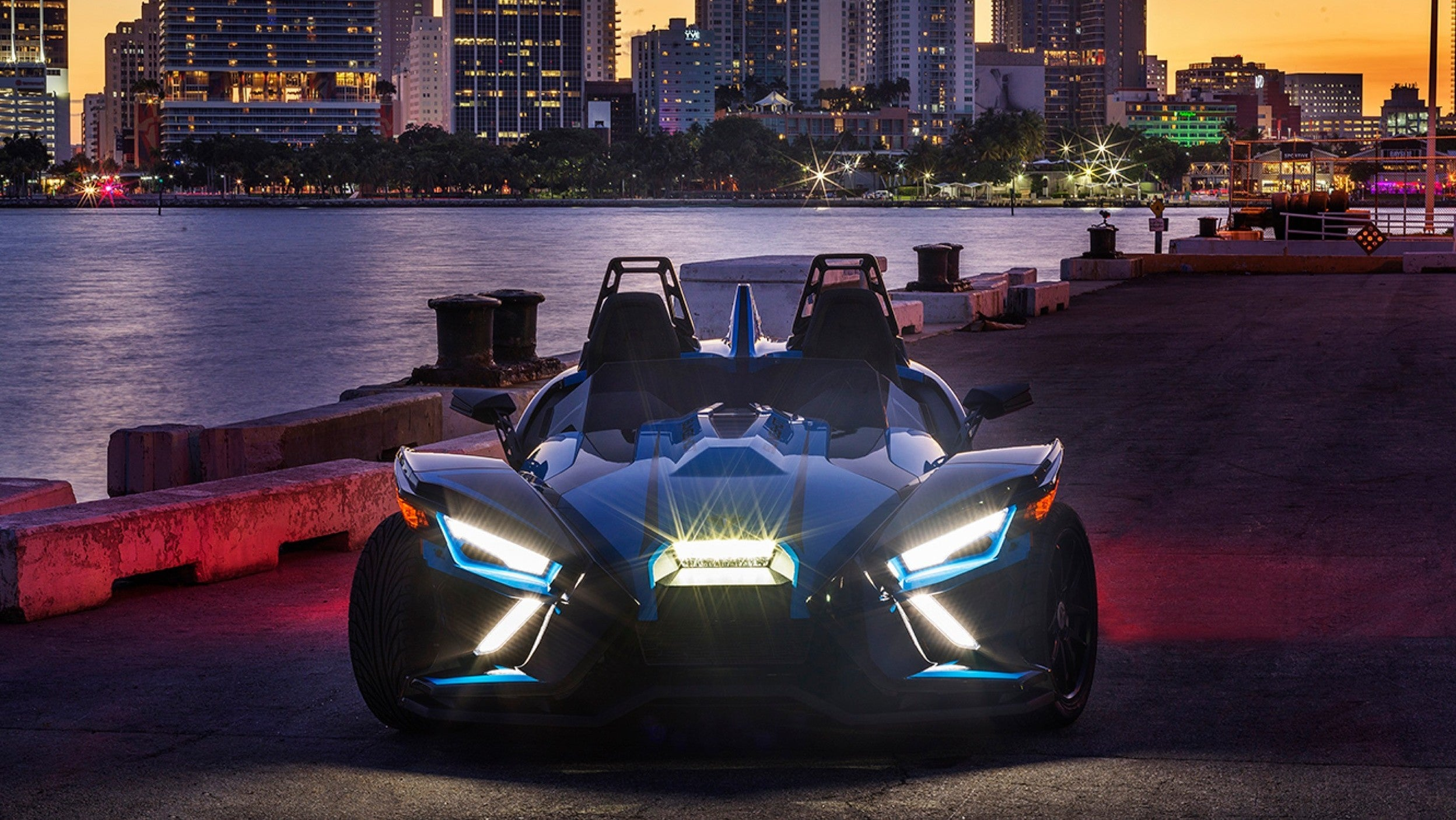 The 2020 Polaris Slingshot Has A New 203-Horsepower Engine And An Optional Automatic