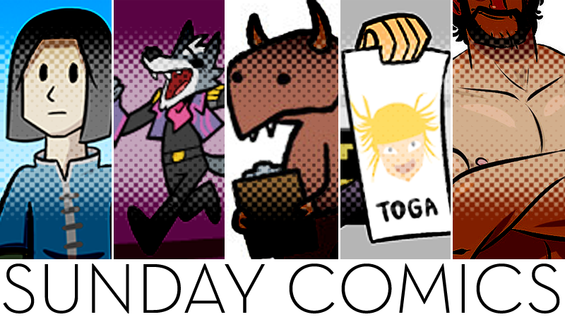 Sunday Comics: Adult Things