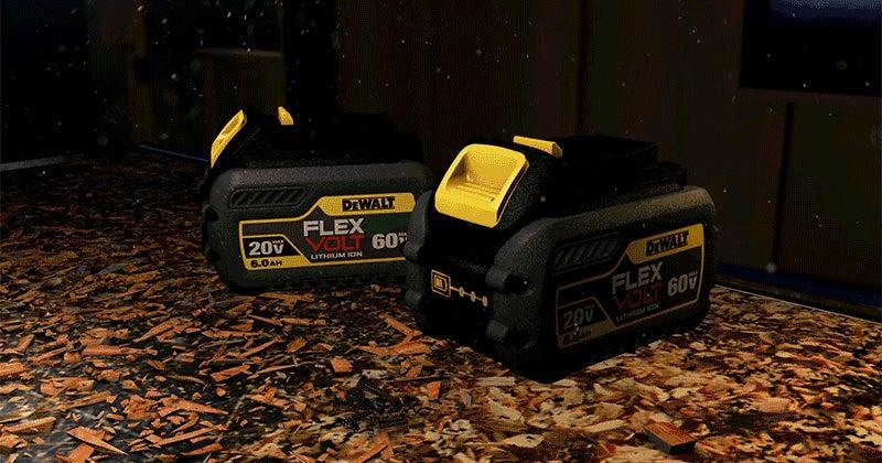 Dewalt's New 60-Volt Batteries Can Even Power Huge Tabletop Saws