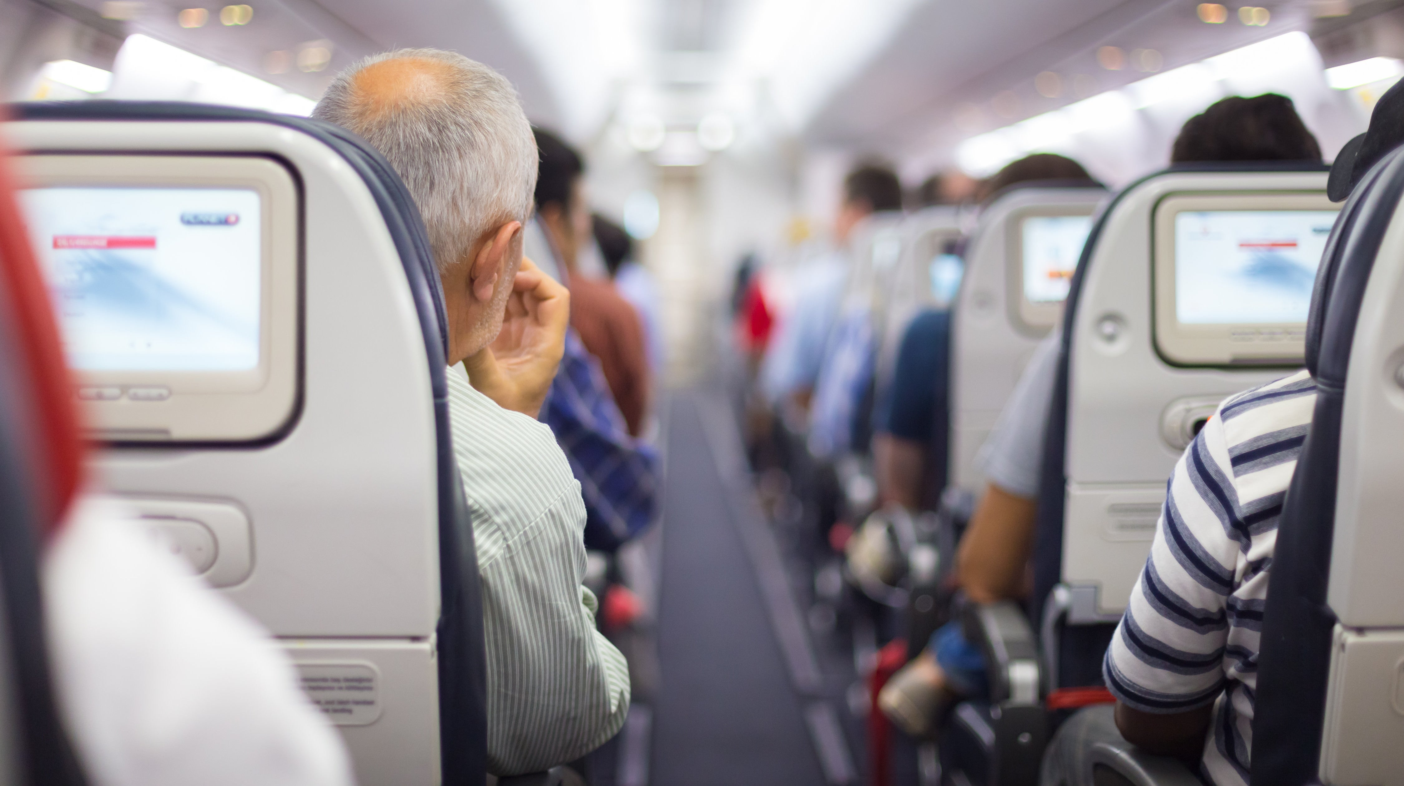 Ask Before You Recline Your Aeroplane Seat