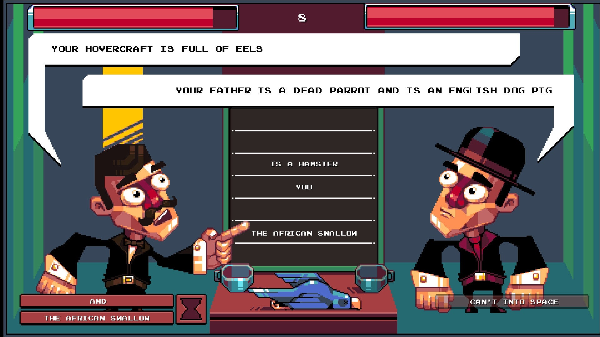 Oh... Sir! Is A Game Where You Fight With Insults