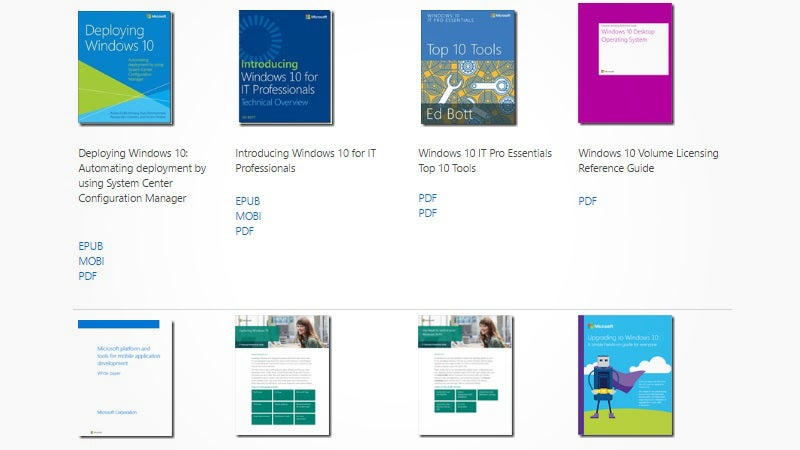 Download A Mass Of 240+ Free Technical Ebooks From Microsoft