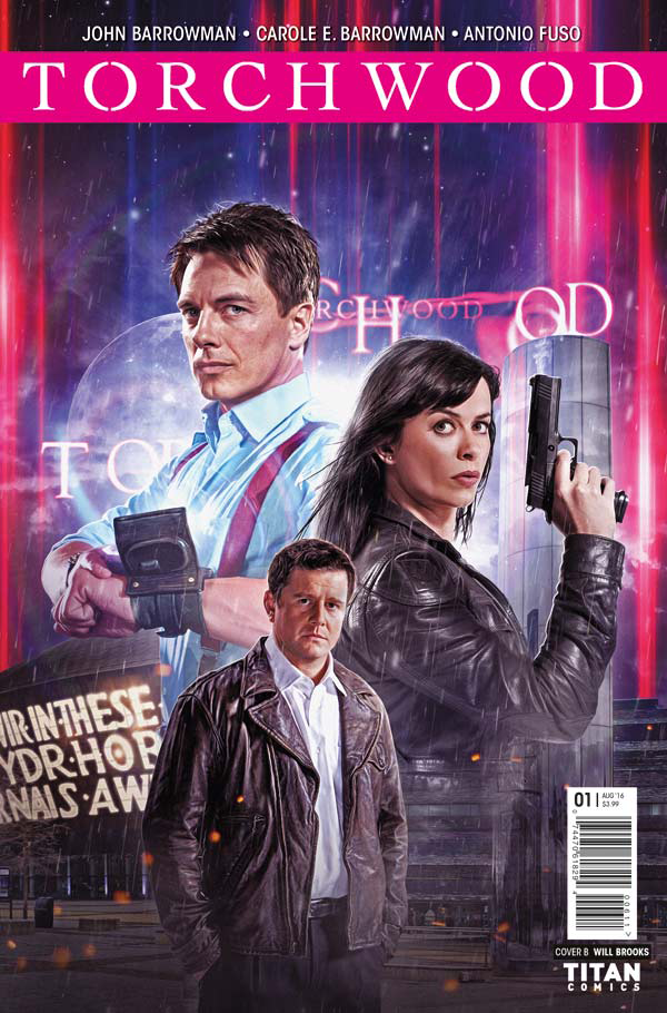The Adventures of Torchwood Continue in a Brand New Comic Series