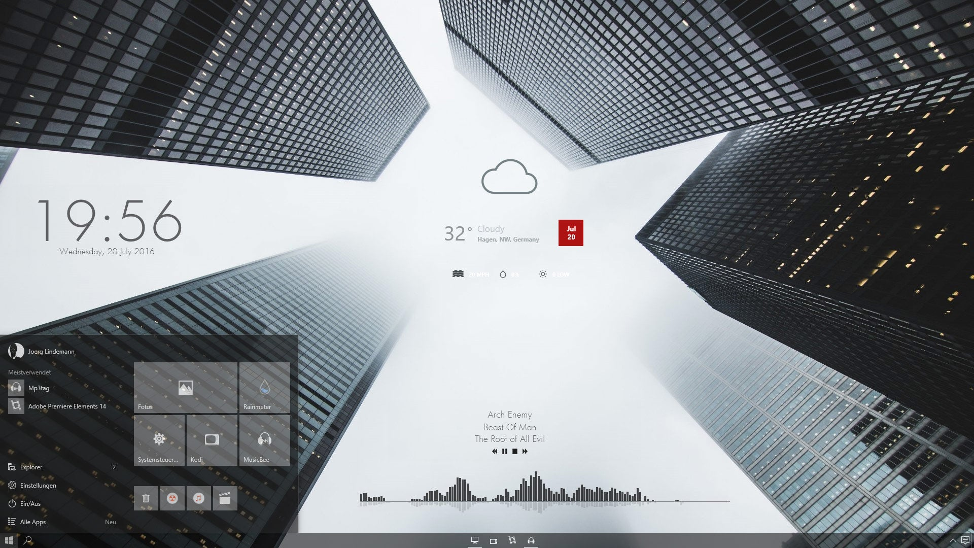 The Skyscraper Desktop