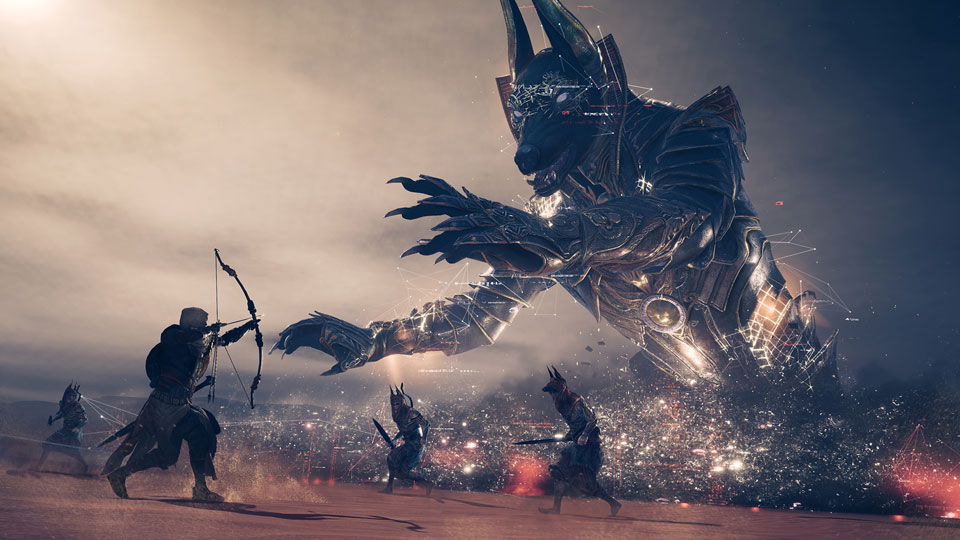 Many Assassin's Creed Origins Players Aren't Ready For The Game's First Post-Release Boss Battles