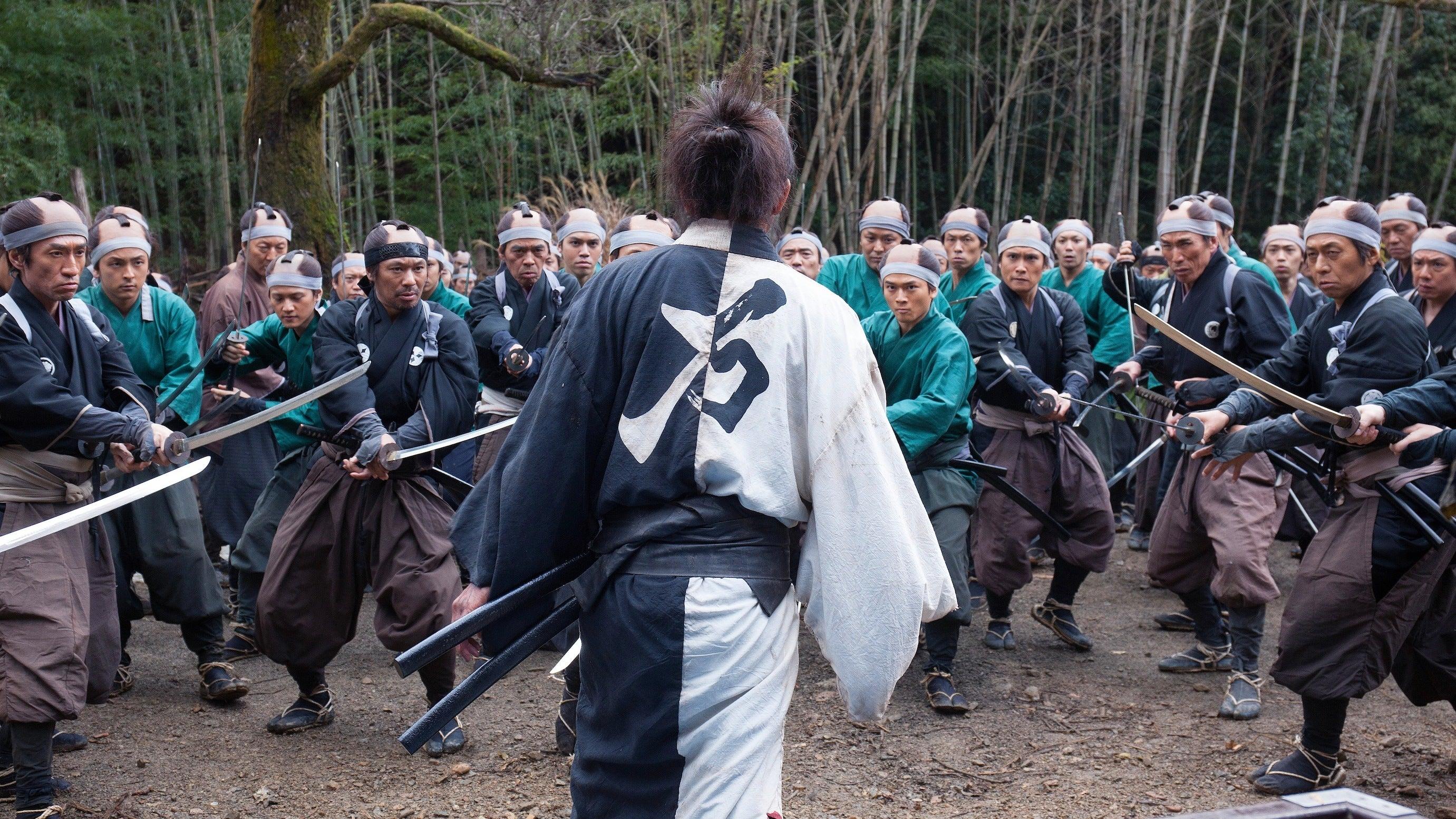 Takashi Miike's New Movie About An Immortal Samurai Looks Bananas