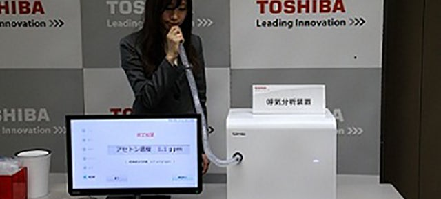 Toshiba's New Breathalyzer Diagnoses Diseases, Not Drunks