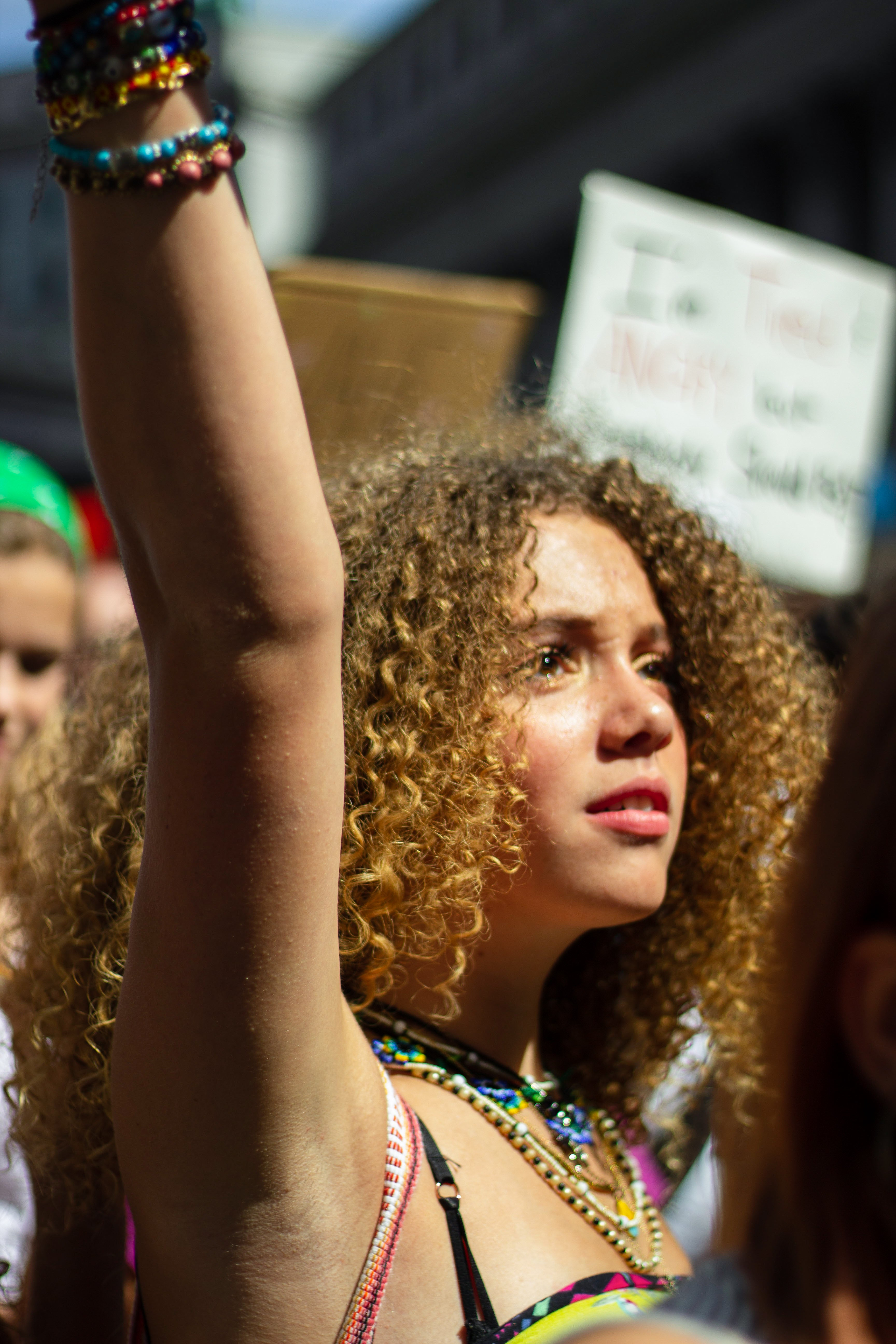 'This Is Only The Beginning:' Young People Demand Justice At New York's Climate Strikes
