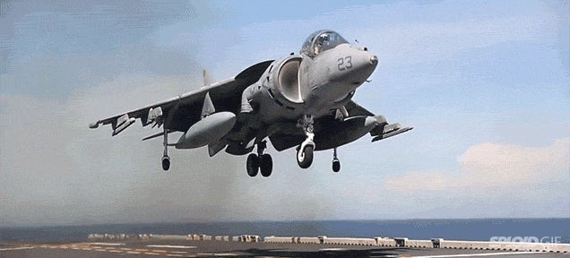 Here Are All the Awesome Vertical Landing Jets in History