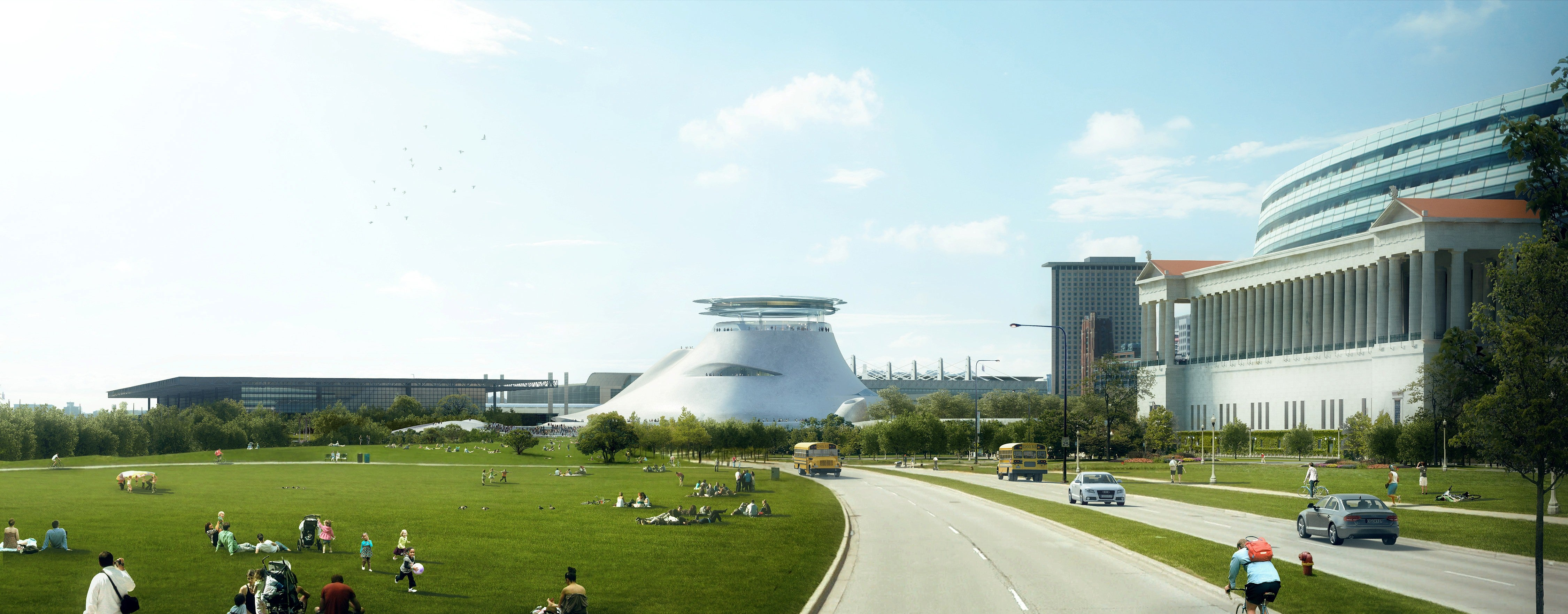 Our First Look at the Radical Design of George Lucas' Art Museum