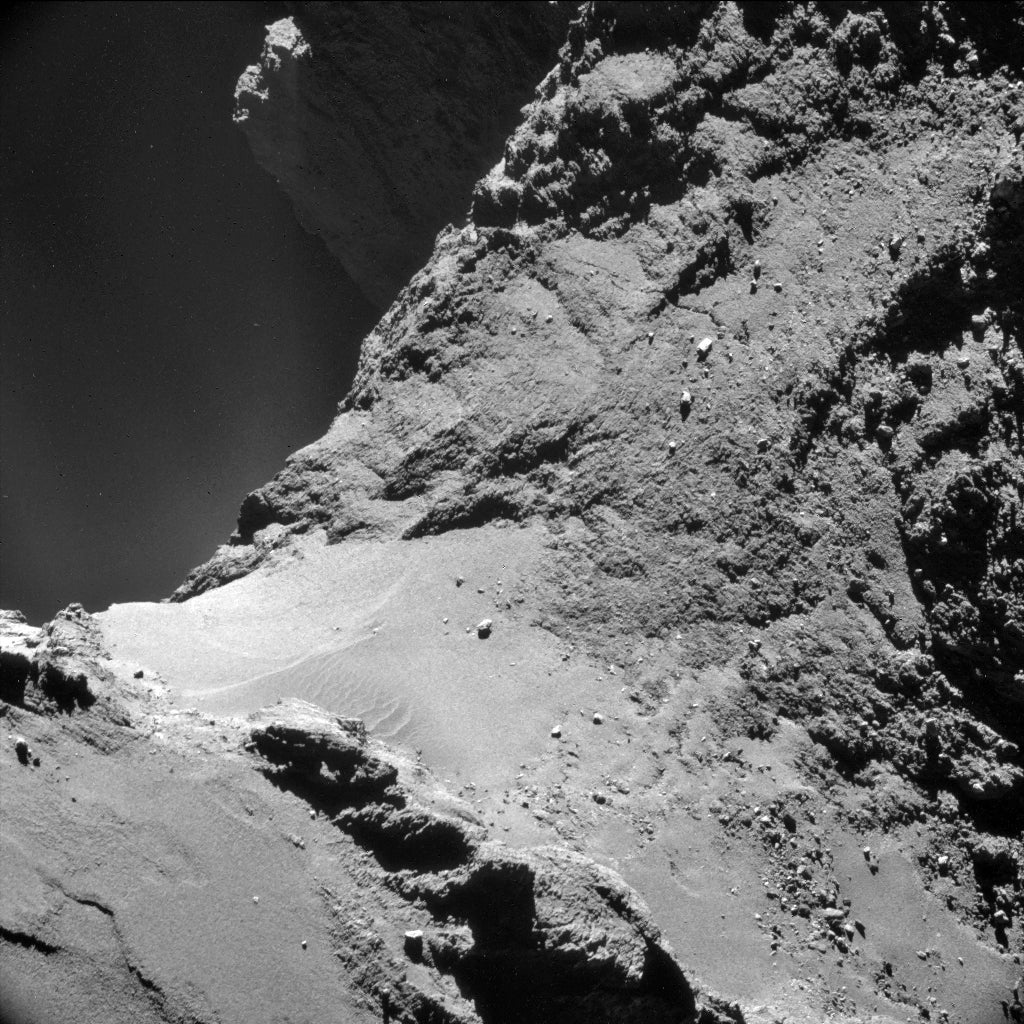 Scientists discover 64P comet stinks and has dunes just like Earth