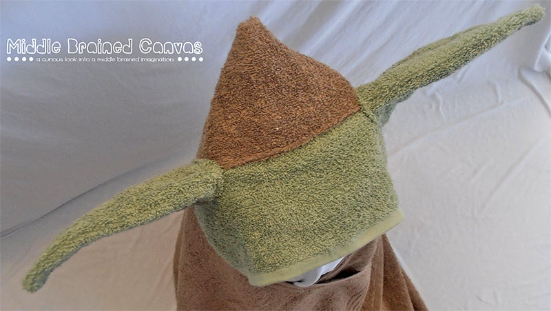 Even the Emperor Would Find This Infant Yoda Bath Towel Adorable