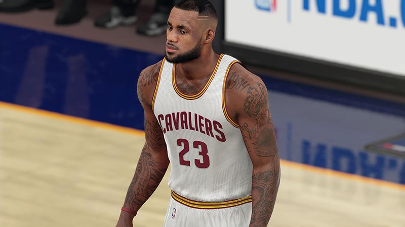 NBA 2K16 Studio Sued Over Some Video Game Tattoos