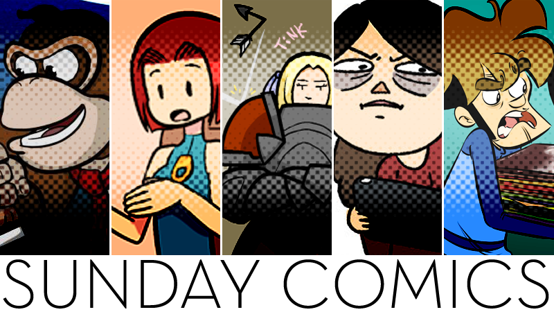 Sunday Comics: Pay Up, Dude