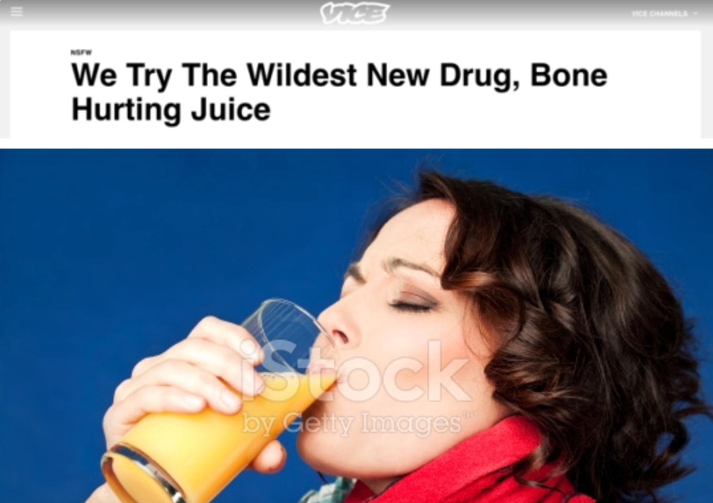 Take A Big Sip Of The New Bone Hurting Juice Meme Gizmodo Australia