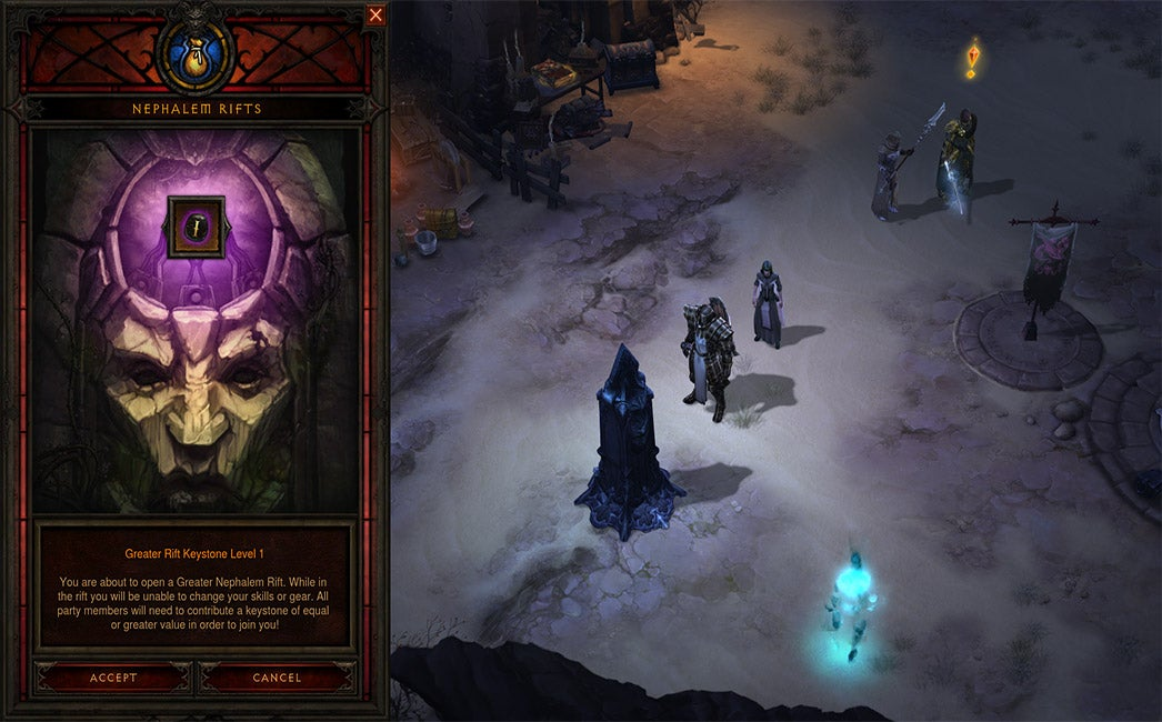 Diablo III 2.1 Patch Brings Greater Rifts And Legendary Gems To PS4