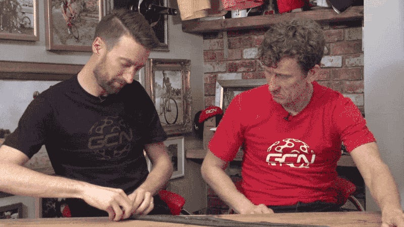 Properly Rewrap a Bicycle Tube by Starting Opposite the Stem
