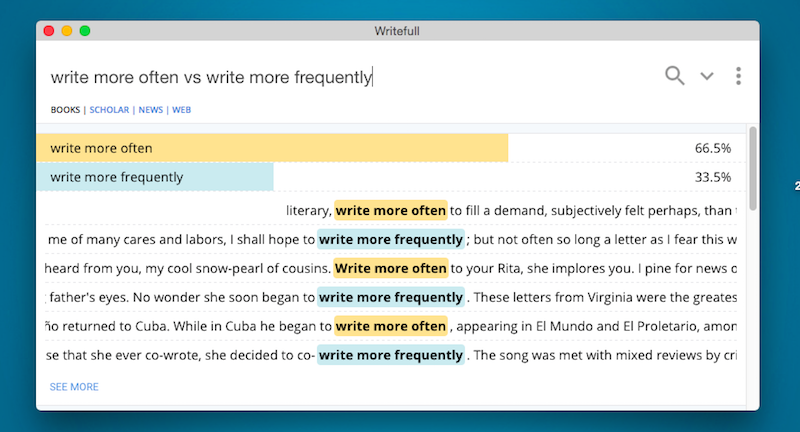 Writefull Analyses The Context Of Phrases You Use To Improve Your Writing