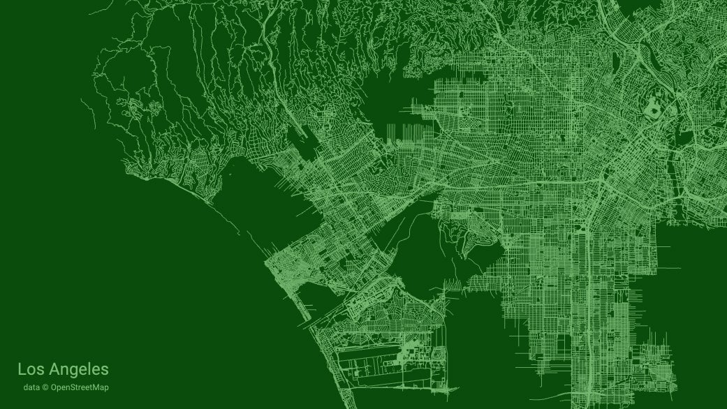 Turn Any City Map Into A Cool Illustration Of Roads
