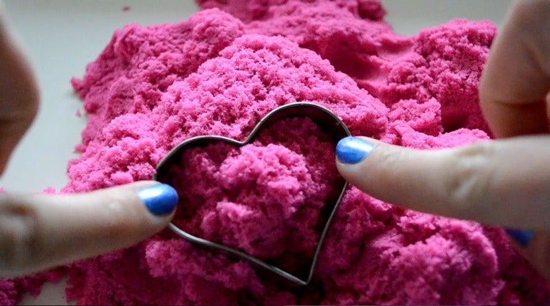 Does Listening To This Pink Kinetic Sand Give You The Tingles?