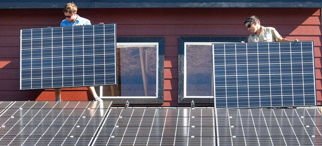 Rooftop Solar Panels Are Almost All Facing the Wrong Direction