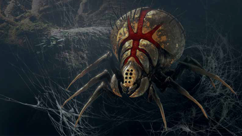 Inside The Art Of Star Wars Jedi: Fallen Order, Kashyyyk's Giant Spiders Are More Horrifying Than Ever