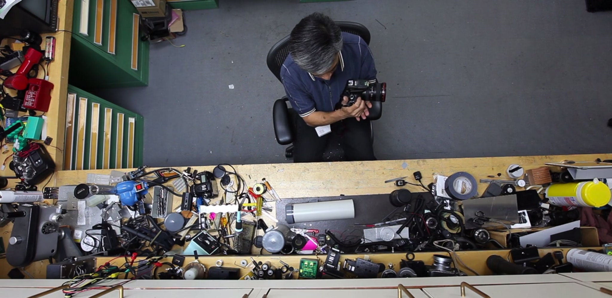 This Guy's Job Is to Hack Cameras for National Geographic Photographers