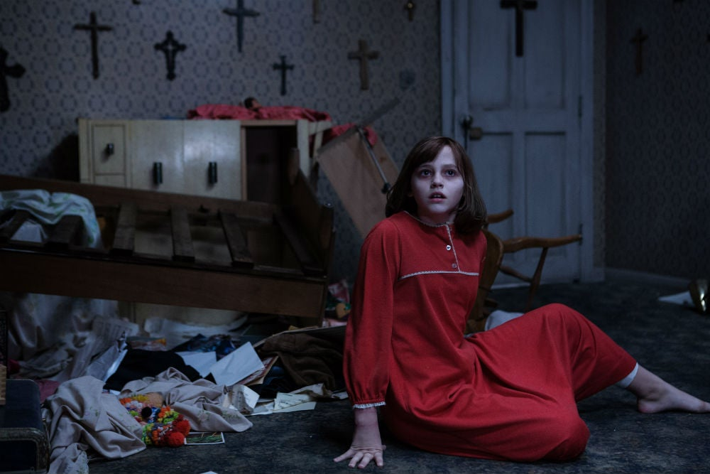 We Visited the Set of The Conjuring 2 and Saw a Master Horror Filmmaker at Work