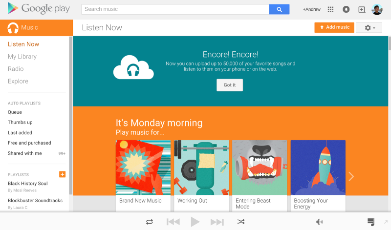Google Play Music's Family Plan Is Live, and It's a Great Deal