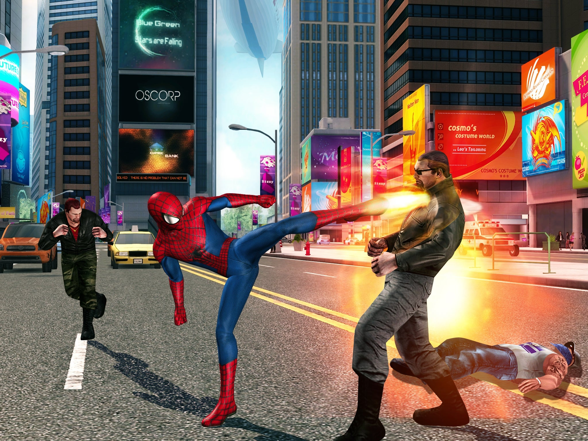 The Amazing Spider-Man Takes Another Swing At Mobile Gaming