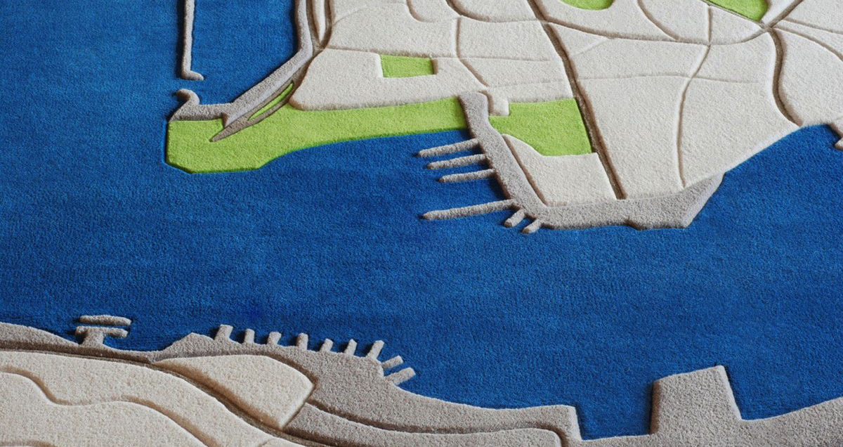 Rugs That Look Like The Earth As Seen From Your Window Seat