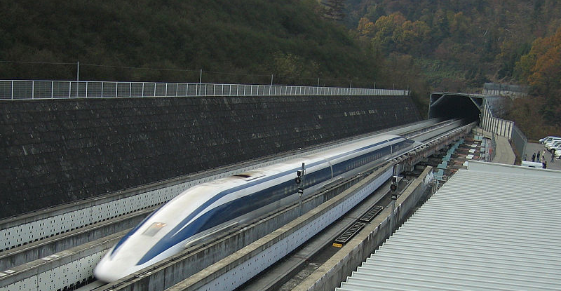 Japan's Spending $US5 Billion To Fast-Track Maglev Trains In The US