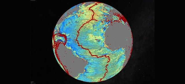 The Most Detailed Map of the Ocean Floor Ever Was Made From Space