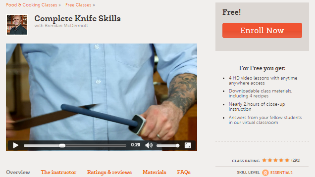 Develop Your Kitchen Knife Skills with This Free Online Course