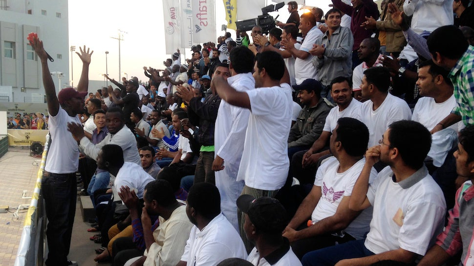 Qatar Pays Migrant Workers $1 An Hour To Be Fake Sports Fans