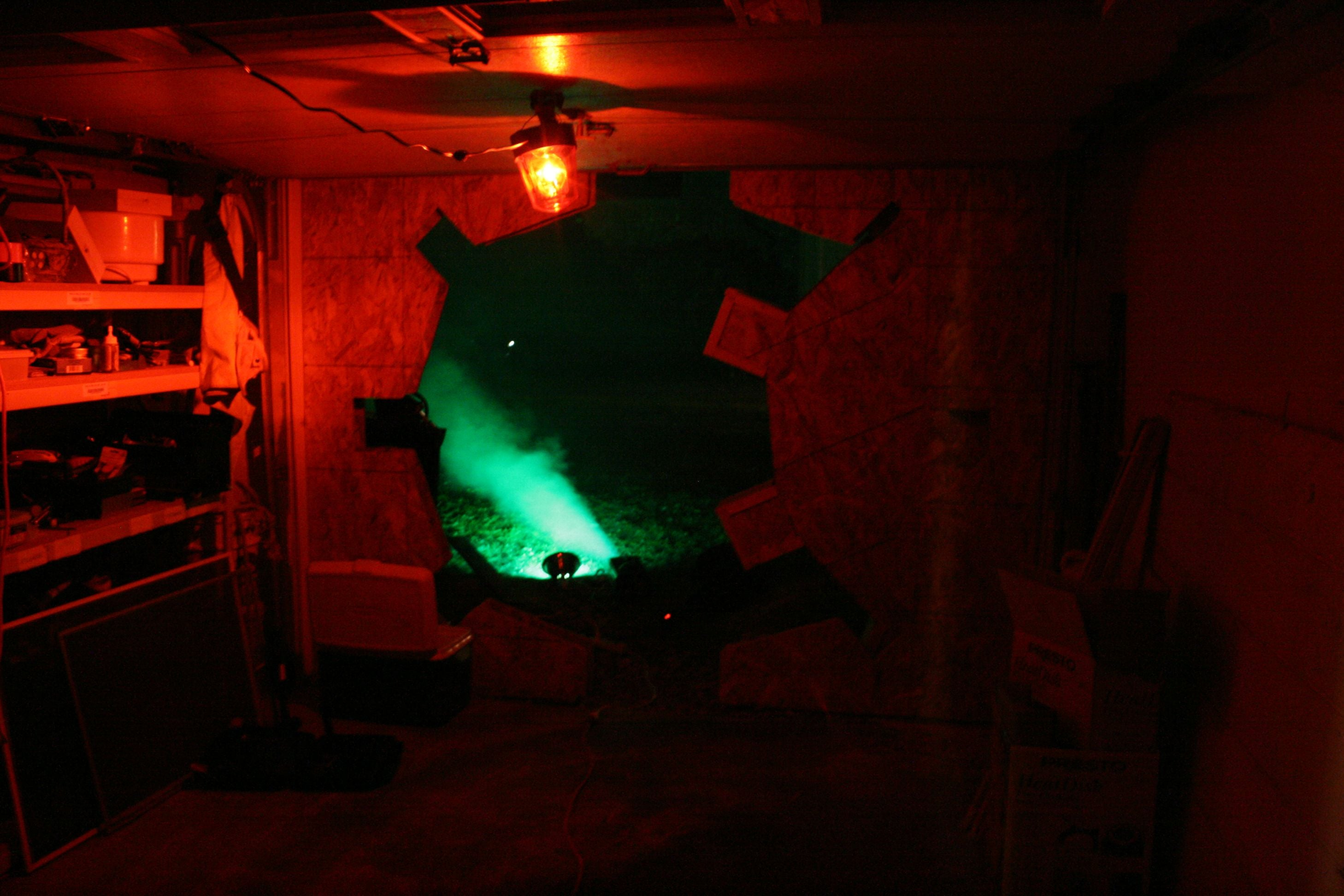 Man Turns Basement Into Fallout Vault For Birthday Party