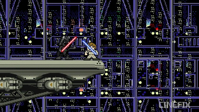 This 8-Bit Version of the Original Star Wars Trilogy Is Way Better Than the Prequels