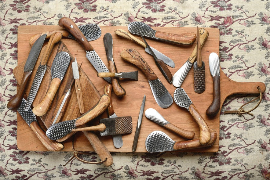 These Hand-Forged Kitchen Knives Are Works of Rural Art