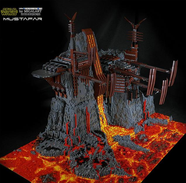 LEGO Star Wars Build Is a Huge 60,000-Piece Work of Art