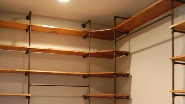 Making Wooden Shelves for a Garage