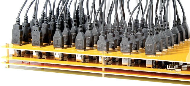 A 49-Port USB Hub Still Isn't Enough