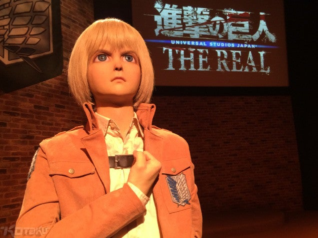 Attack on Titan Characters Made Unnervingly Real