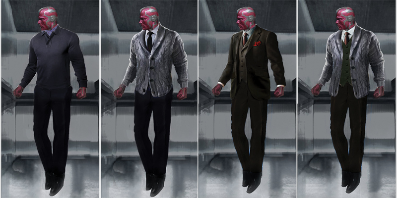 Vision'sCivil WarConcept Art ProvesEven An Android Can Be Pretty Fly