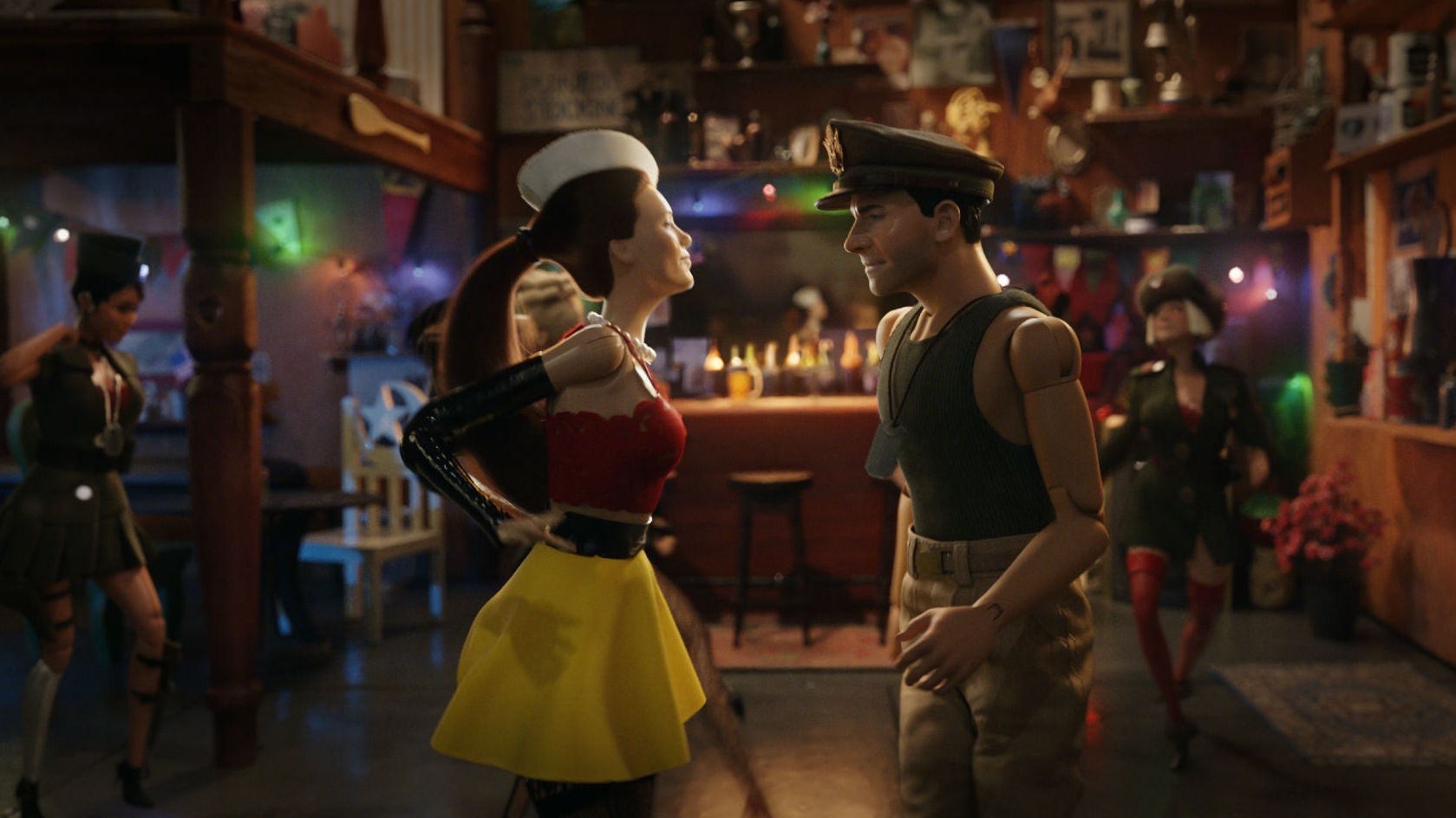 A World Of Toys Comes To Life In Robert Zemeckis' True StoryWelcome To Marwen