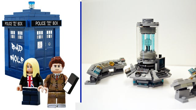 We're Dangerously Close To Getting An Official Doctor Who LEGO Set